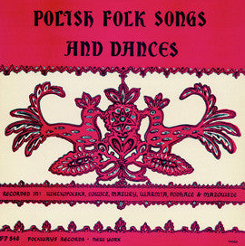 Polish Folk Songs and Dances (1954)  CD