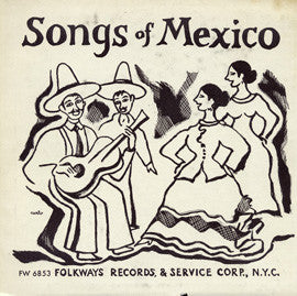 Songs of Mexico, Vol. 2 (1955)  CD
