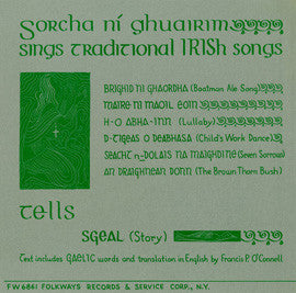 Irish Traditional Songs (1957)  Sorcha Ni Fhlionn CD