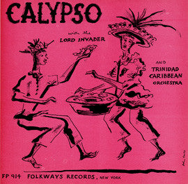 Calypso with the Lord Invader (1955)  CD