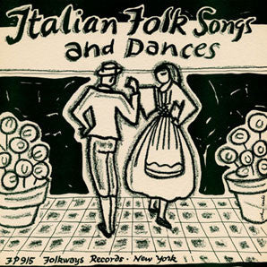 Italian Folk Songs and Dances (1955)  CD