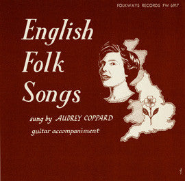 English Folk Songs (1956)  Audrey Coppard CD