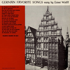 German Favorite Songs (1956)  Ernst Wolff CD