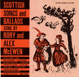 Scottish Songs and Ballads (1957)  Rory and Alex McEwen CD