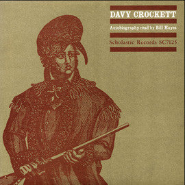 Davy Crockett Autobiography Read by Bill Hayes CD