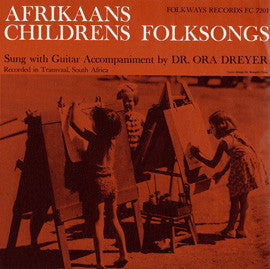 Afrikaans Children's Folksongs CD