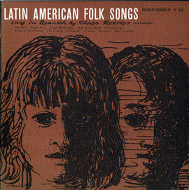 Latin American Folk Songs Sung in Spanish by Chago Rodrigo (1957)  CD