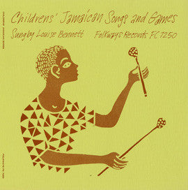 Children's Jamaican Songs and Games (1957)  Louise Bennett CD