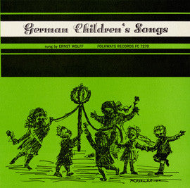 German Children's Songs, Vol. 1 (1959)  Ernst Wolff CD
