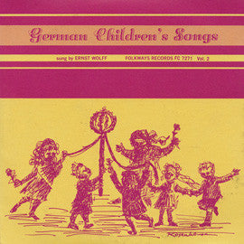 German Children's Songs, Vol. 2 (1961)  Ernst Wolff CD
