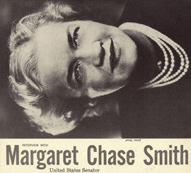 An Interview with Margaret Chase Smith CD