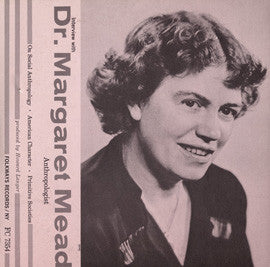 An Interview with Margaret Mead CD