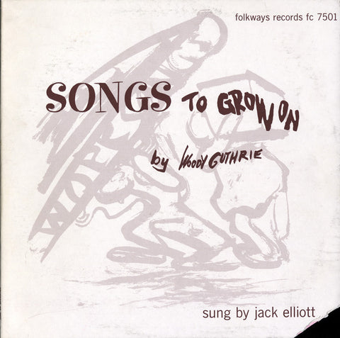Ramblin' Jack Elliott  Woody Guthrie's Songs to Grow On (1961) CD