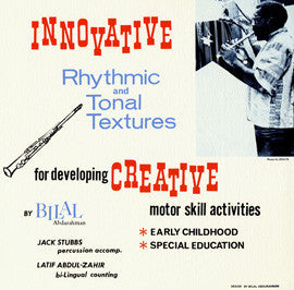 Innovative Rhythmic and Tonal Textures for Developing Creative Motor Skill Activities (1976)  CD
