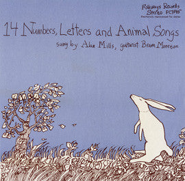 Alan Mills: 14 Numbers, Letters, and Animal Songs CD