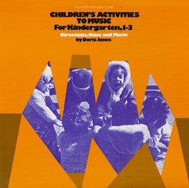 Children's Activities to Music Doris Jones CD