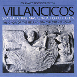 Villancicos  Spanish Christmas Songs for Children (1967) Choir of the Bella Vista Children's Home CD