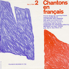 Chantons en Francais, Part 2  French Songs for Learning French (1961)  CD