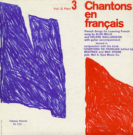 Chantons en Francais, Part 3  French Songs for Learning French (1961)  CD