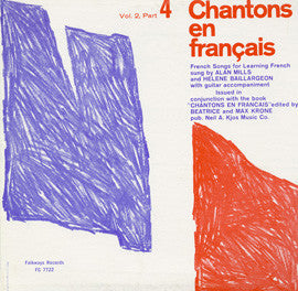 Chantons en Francais, Part 4  French Songs for Learning French (1961)  CD