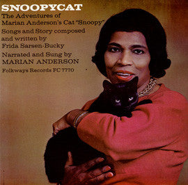 Snoopycat  The Adventures of Marion Anderson's Cat Snoopy (1963)  Marion Anderson CD