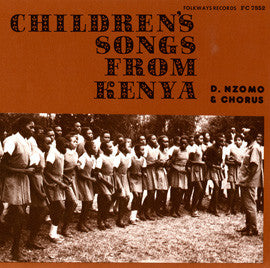 Children's Songs from Kenya -- David Nzomo and Chorus CD