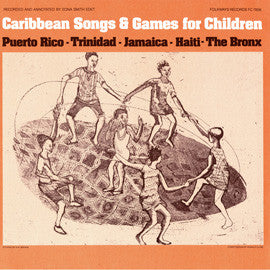 Caribbean Songs and Games for Children (1978)  CD