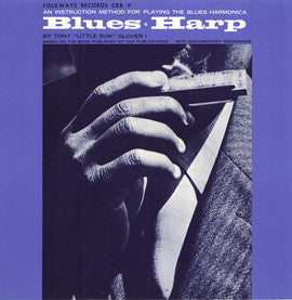 Blues Harp  An Instruction Method for Playing the Blues Harmonica (1965)  Tony Glover CD