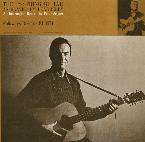 Pete Seeger  The 12-String Guitar as Played by Lead Belly (1962) CD