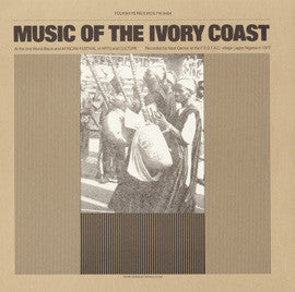 Indigenous Music of the Ivory Coast CD