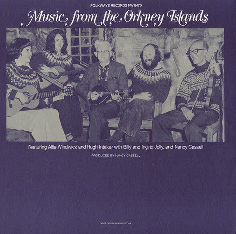 Music from the Orkney Islands (Scotland) (1979)  Alie Windwick and Hugh Intaker CD