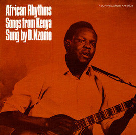 African Rhythms  Songs from Kenya - David Nzomo CD