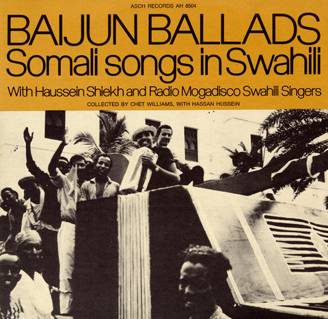 Baijun Ballads Somali Songs in Swahili - Haussein Shiekh CD