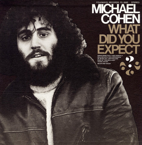 Michael Cohen  What Did You Expect...? Songs About the Experiences of Being Gay (1973) CD