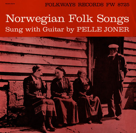 Norwegian Folk Songs (1958)  Pelle Joner CD