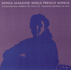 Sonia Malkine Sings French Folk Songs (1964)  CD