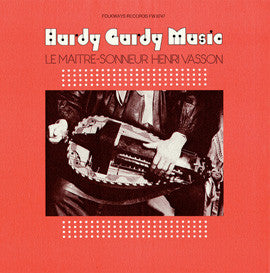 Hurdy Gurdy Music (1976)  Henri Vasson CD