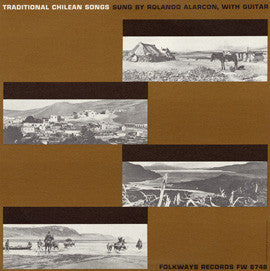 Traditional Chilean Songs (1960)  Roland Alarcon CD