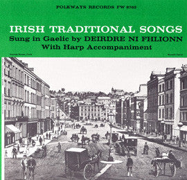 Irish Traditional Songs (1958)  Deirdre Ni Fhlionn CD