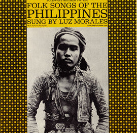 Folk Songs of the Philippines (1960)  CD