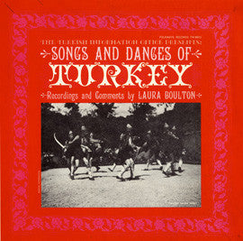 Songs and Dances of Turkey (1955)  CD