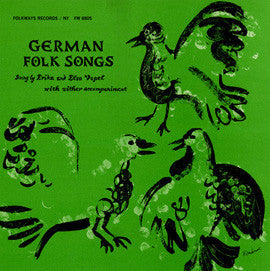 German Folk Songs (1957)  Erika and Elsa Vopel CD