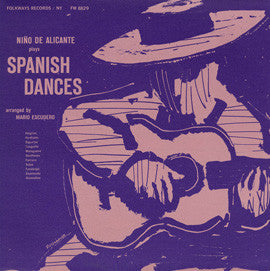 Spanish Dances (1959)  Nino de Alicante CD