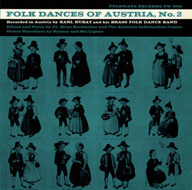 Folk Dances of Austria, Vol. 2 (1959)  Karl Kubat CD