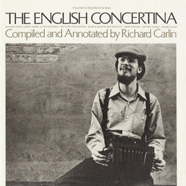The English Concertina (1976)  Richard Carlin CD