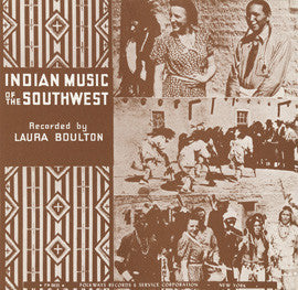 Indian Music of the Southwest (1957)  CD