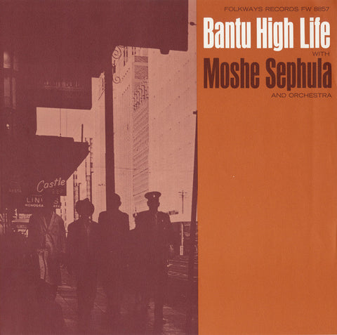 Bantu High Life  Moshe Sephula and Orchestra CD