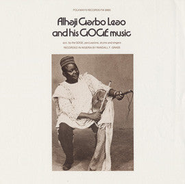Alhaji Garbo Leo and his Goge Music CD
