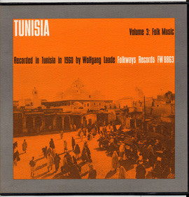 Tunisia Vol 3  Folk Music CD