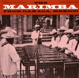 Two Marimbas from Oaxaca, Mexico (1965)  Rivera and Navarro CD